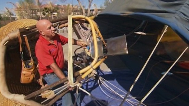 VIDEO: Eyewitnesses describe what they saw when balloon gondola became entangled and crashed to Earth.