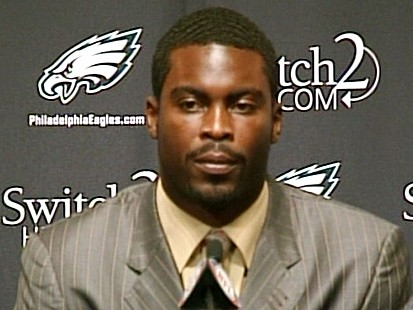 VIDEO: NFLs Eagles Give Vick Second Chance