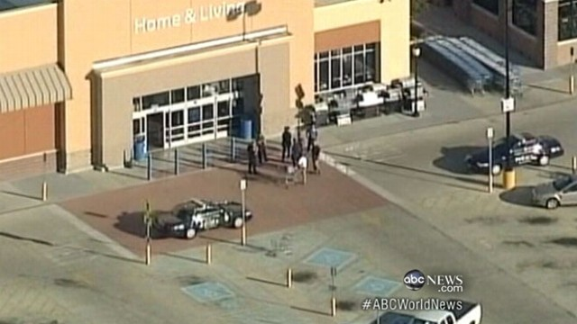 VIDEO: Police evacuate stores from coast to coast after mysterious calls.