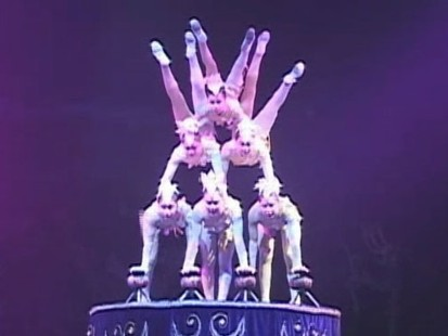 VIDEO: With stunts and feats of balance, ancient Chinese sport still draws crowds.