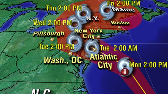 VIDEO: Extreme weather team tracks the latest on preparations for the super storm.