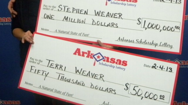 VIDEO: Getaway trip turns married couple into millionaires, with two wins in one weekend.