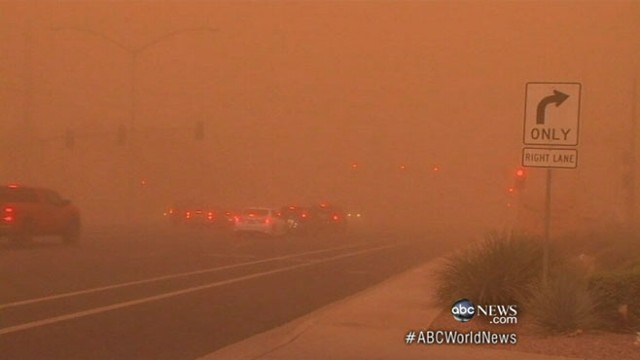 VIDEO: Severe heat creates dust storms and insect outbreaks in the Southwest.