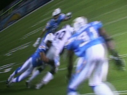 VIDEO: NFL football broadcast in 3-D.