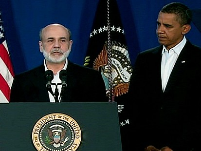 VIDEO: Vote of Confidence for Bernanke