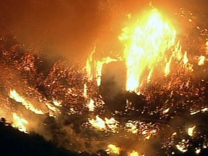 VIDEO: Wildfires in Southern California