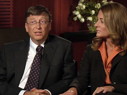 VIDEO: Bill And Melinda Gates On Living Proof Project