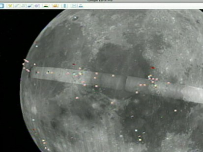 VIDEO: Google moon shows lunar surface up close
