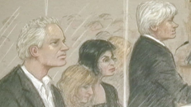 VIDEO: Jim Scuitto reports on the court drama surrounding Julian Assange.