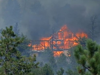 VIDEO: Thousands of people have been forced out of their homes due to wildfires.