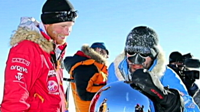 Wounded Vets South Pole Triumph