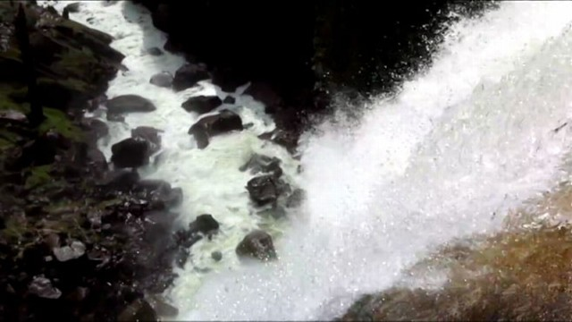 VIDEO: California park visitors presumed dead after they were swept over a waterfall.