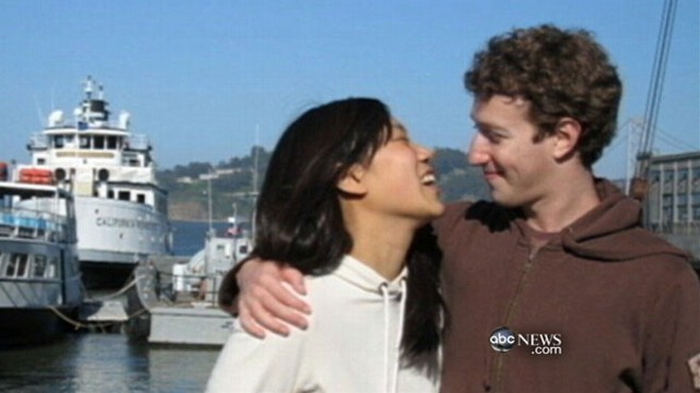VIDEO: Facebook founder marries college sweetheart, Priscilla Chan, 27.