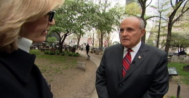 VIDEO: Former NYC mayor told Bush he ?wanted to be the one to execute him?.