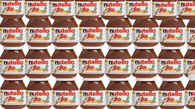 PHOTO: About 11,000 pounds of Nutella were stolen from a truck parked at a former train station in Niederaula, Germany, April 6, 2013.