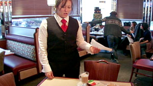 PHOTO: Dine and Dash: What Would You Do? What Would You Do If You Saw a Group of Teens Skip Out on the Bill?