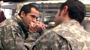 "PHOTO ""What Would You Do?"" decided to set up hidden cameras inside the Colonial Diner in Lyndhurst, N.J., to see how people felt about openly gay servicemen showing affection in public."