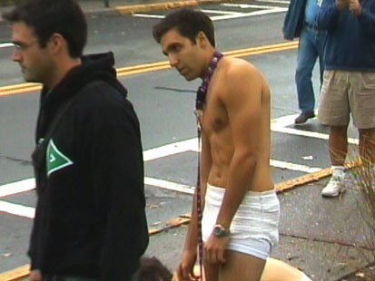 VIDEO: When passersby come across public hazing, will they try to stop it?