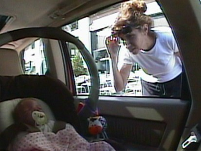 VIDEO: Would you help a baby in a hot car
