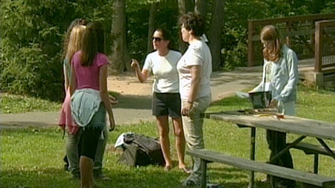 VIDEO: Hidden cameras catch bystanders reactions to teen girl bullying.