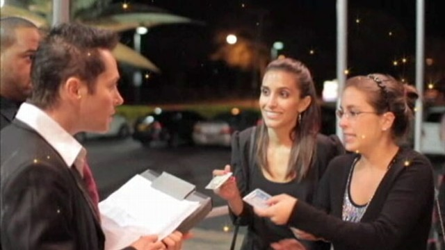 VIDEO: Two doormen have a completely offensive admission policy. What would you do?