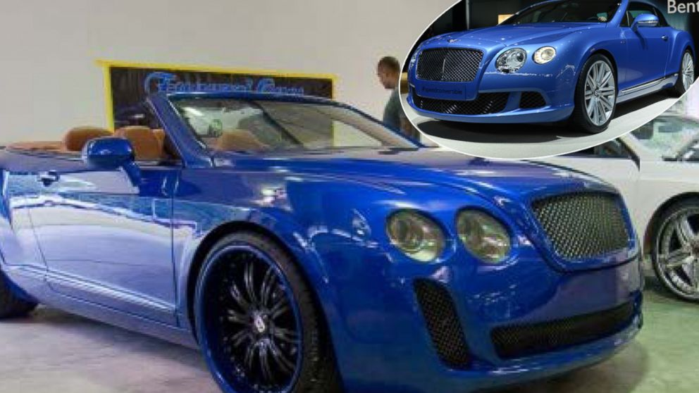 Chrysler Ford Vehicles Transformed In Bentley Luxury Cars