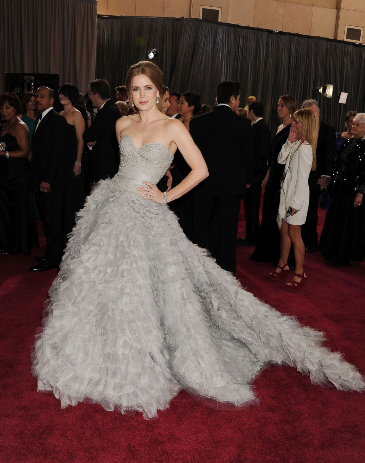 Amy Adams in Oscar de la Renta Picture | Best Oscar ...