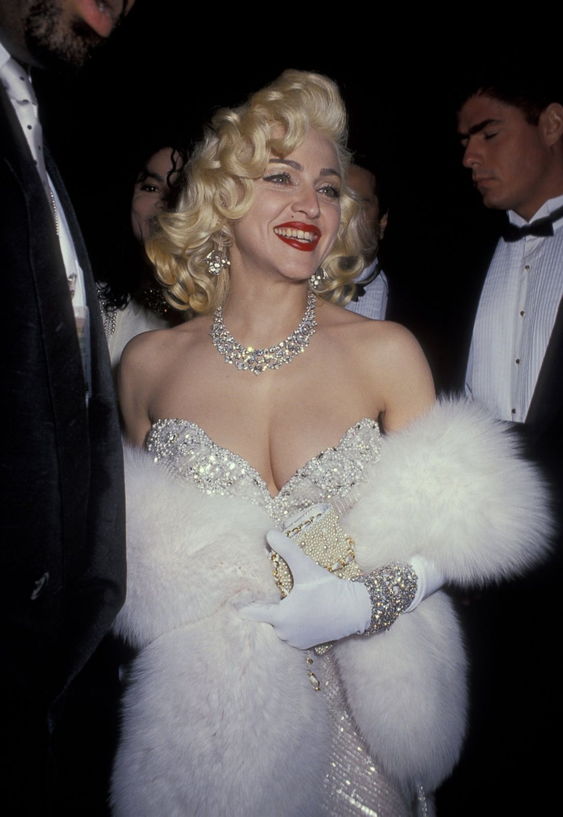 Madonna In Bob Mackie Picture Best Oscar Dresses Through