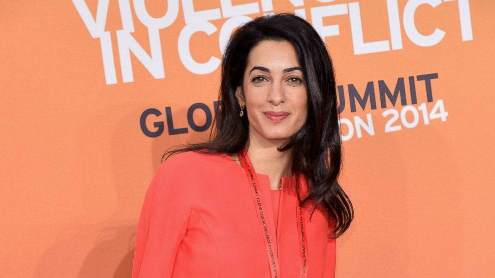George Clooney Is Married - All About His Wife, Amal ...
