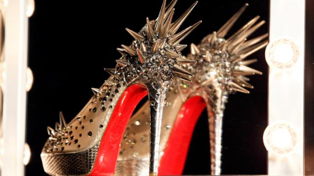expensive women's shoes red soles