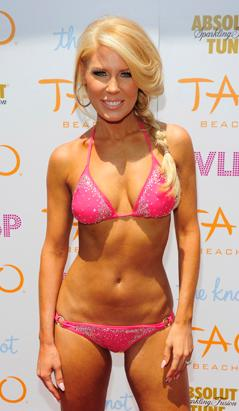Gretchen Rossi Flaunts Skimpy Sequined Bikini Picture | Celebrities on Vacation - ABC News