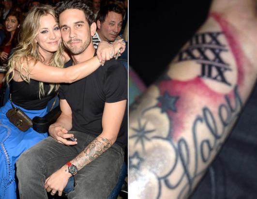 Whoa Kaley Cuoco S Husband Got A Giant Tattoo For Her