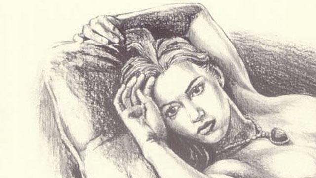 Kate winslet titanic drawing