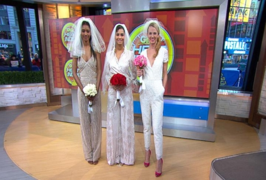 J.Crew Bridal Jumpsuit: First Look At Fashionalbe Wedding