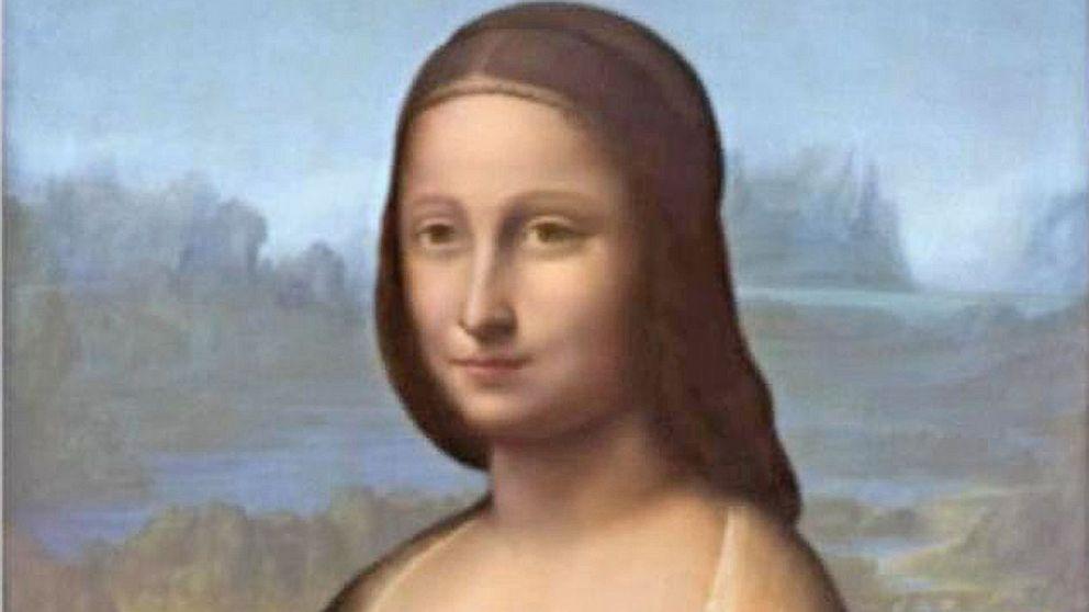 Hidden Portrait Found Under 'Mona Lisa' Painting Video ...