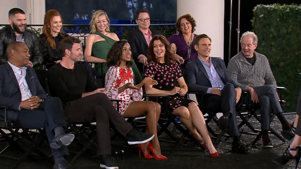 Gma Catches Up With The Cast Of Scandal Live Video