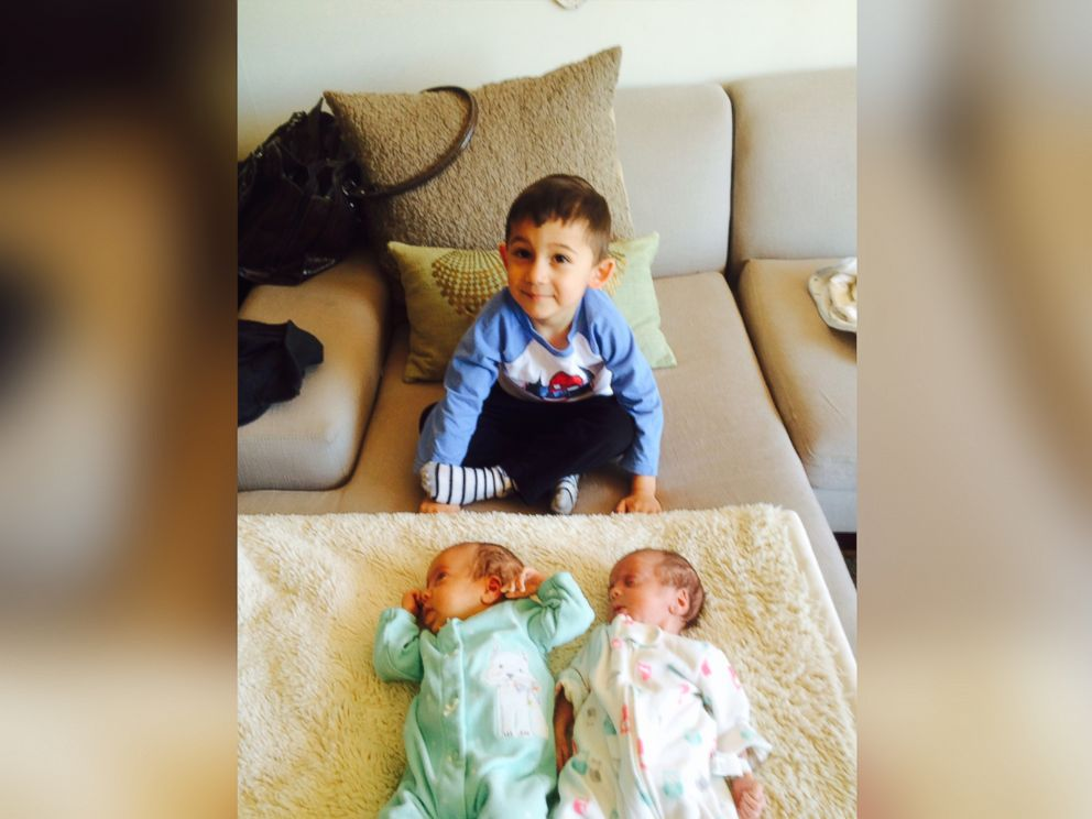 preemie twins finally go home for first holiday as family abc news. Black Bedroom Furniture Sets. Home Design Ideas