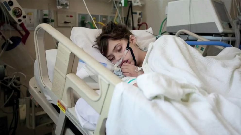 Teen Explains What Life is Like in a Coma - ABC News  Teen Explains W...