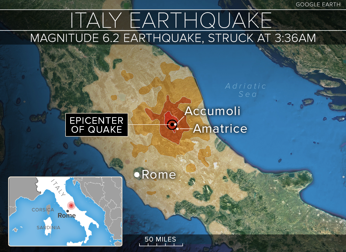 Italy earthquake toll rises to 297 after two die of ... |Italian Earthquake
