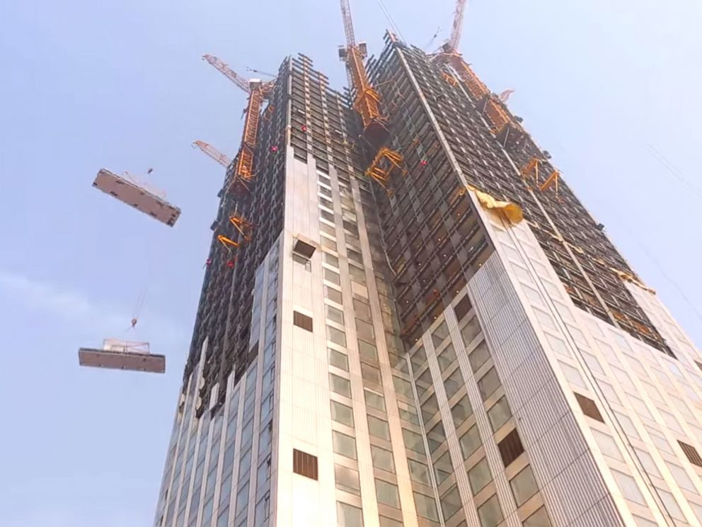 Chinese Company Records Time-Lapse Video of Skyscraper ...