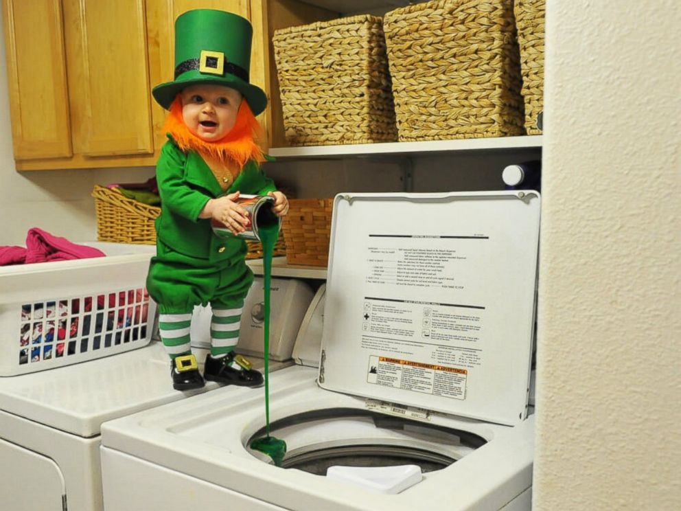 Dad Photographs 6 Month Old Son As Real Life Leprechaun