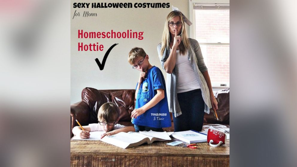 Hilarious Sexy Mom Costume Photo Series Pokes Fun At
