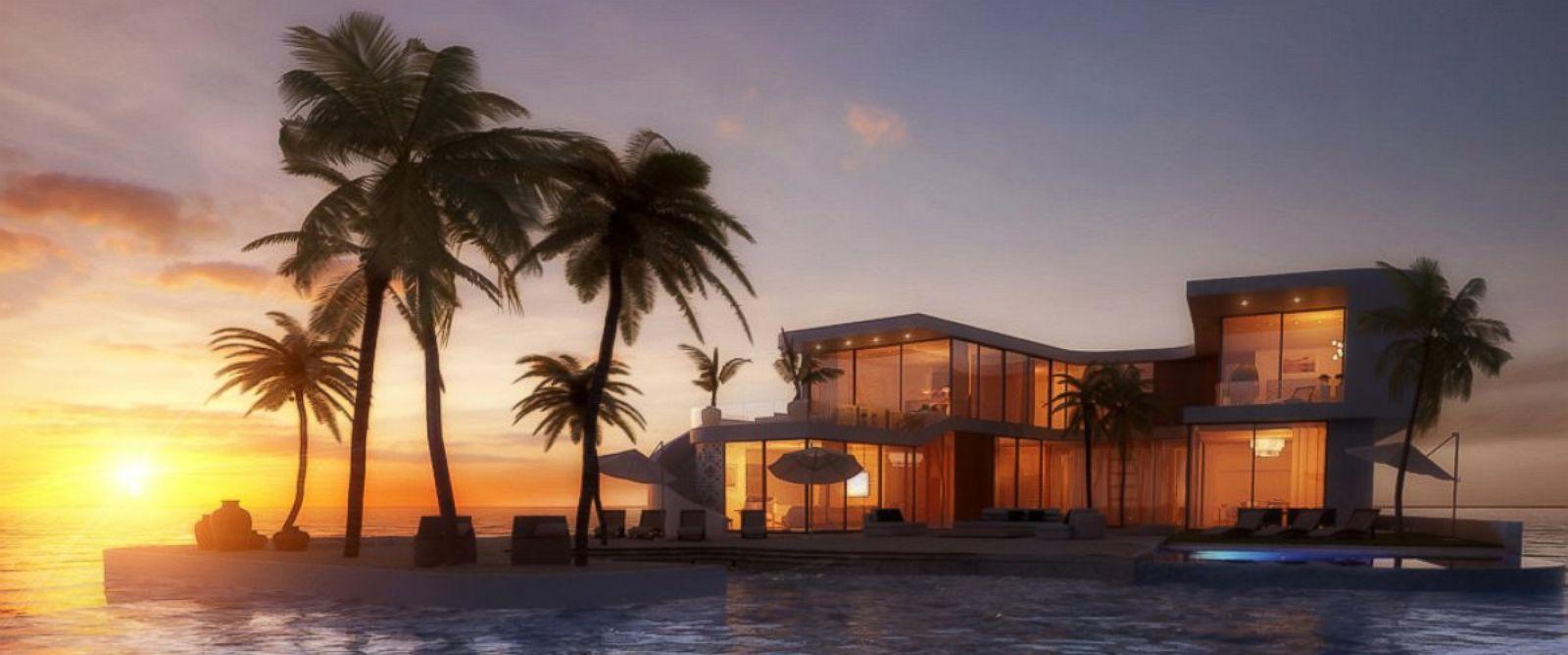 Luxury Real Estate Developer Creates Floating Private