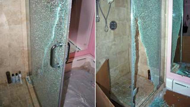 Glass Shower Doors Shatter Suddenly Abc News