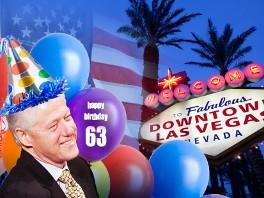 Former President Bill Clinton Celebrates His 63rd Birthday ...