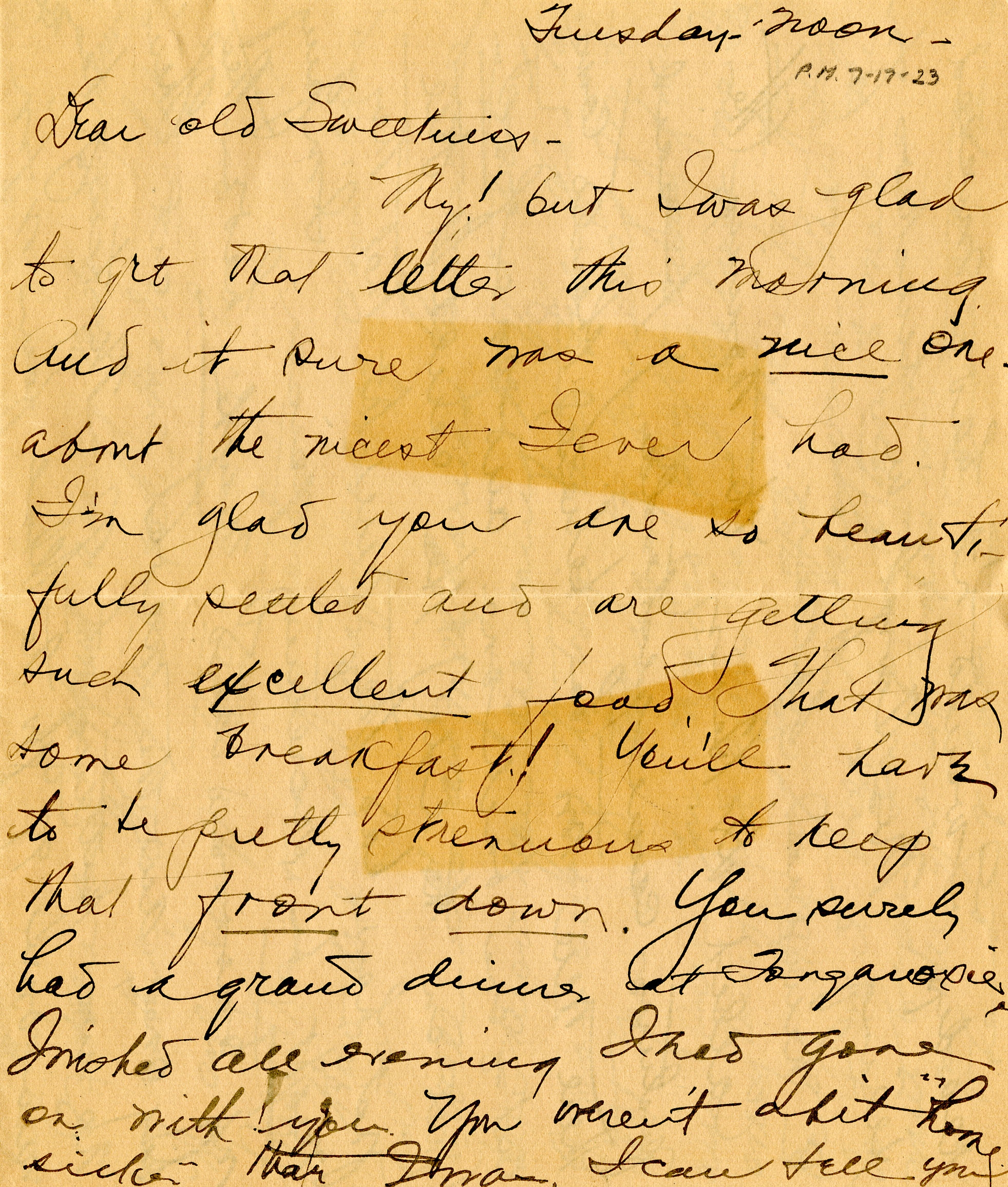 Former First Lady Bess Truman's Letters to President Harry Truman Show ...