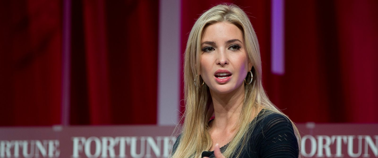 presidential candidate Donald Trump, founder and CEO, Ivanka Trump ...
