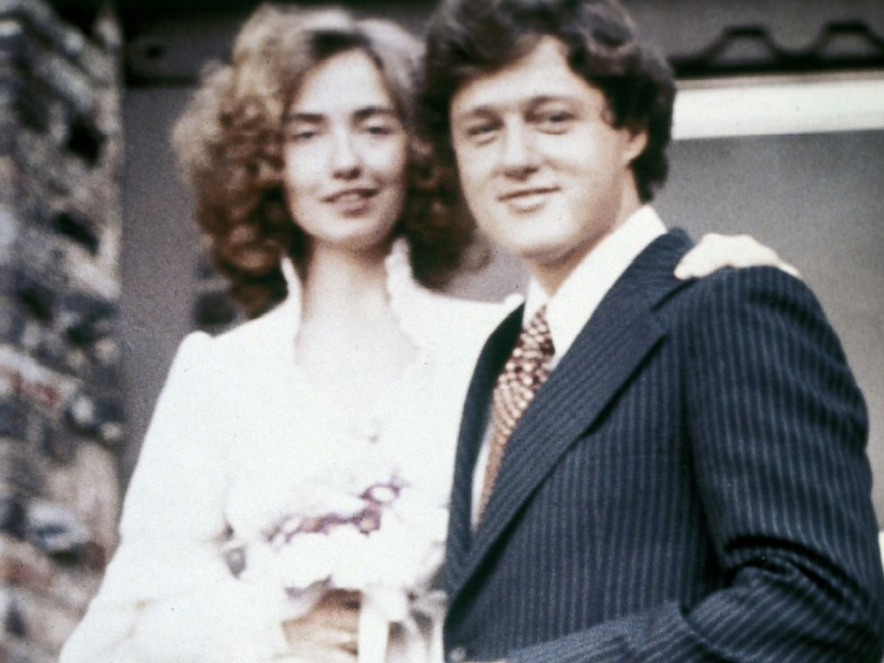Young Hillary And Bill Clinton PHOTO Bill and Hillary