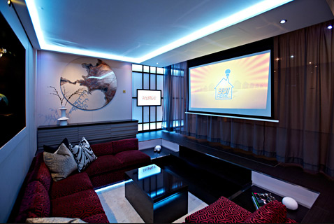 The Unit Comes Complete With A Surround Sound Home Theater
