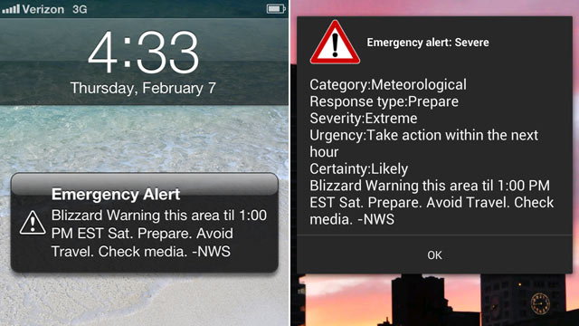 emergency alerts iphone blizzard wireless emergency alerts why only some 3459